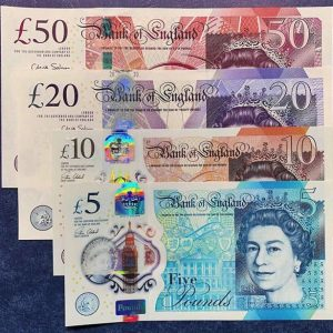 British Pounds Counterfeit Money